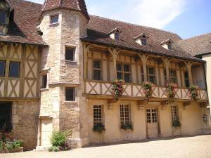 The old palace in Beaune