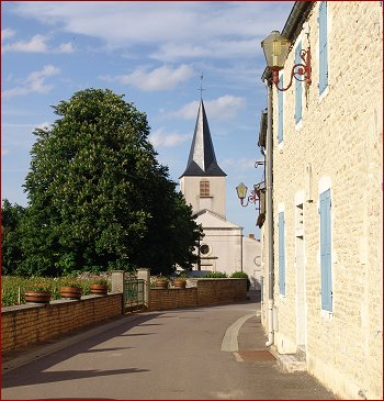 the church in chassagne