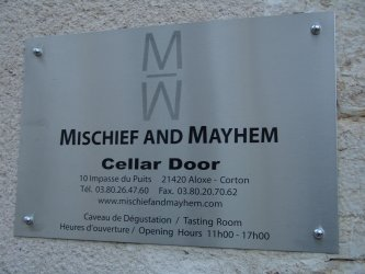 mischief and mayhem cellar door