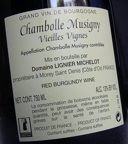 lignier-michelot chambolle