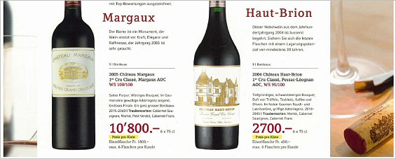 parker points for chateau margaux