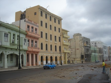 Havana - debris from waves on Malicon