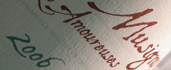 Alex Gambal's 2006 Chambolle-Musigny Les Amoureuses