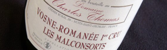 Charles Thomas Vosne-Romanée 1er Les Malconsorts