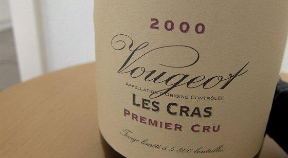 Domaine de la Vougeraie Vougeot 1er Les Cras
