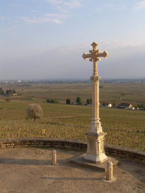 Cross of Charlemagne from above