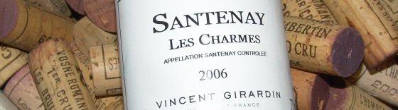 2006 Vincent Girardin, Santenay Les Charmes