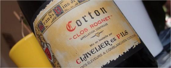 clavelier-1981-corton-clos-rognet