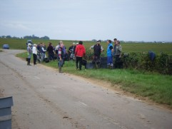 14-Day 5 - Vendangeurs of G Lignier et Fils across from us