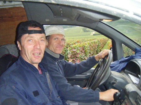 17-Day 5 - My mates of years and Citroen Jumpy travelling companions, Florent (driving) and Laurent