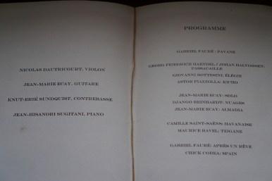 Their programme