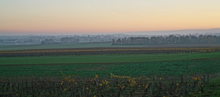 Saturday evening, towards Beaune