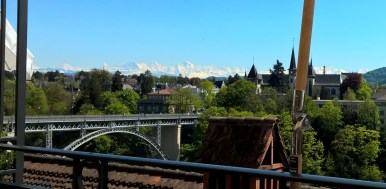Bernese alps - from Bern
