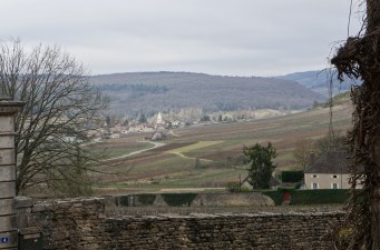 Monthelie looking towards Auxey-Duresses
