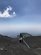 Over 2,500 metres on Mount Etna...