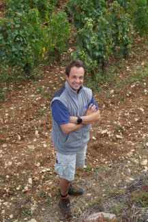 François Bitouzet in Les Corbins...