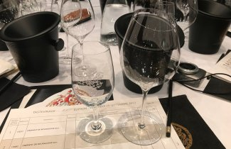 the old tasting-glass and the new