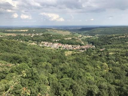 Way above St.Romain...
