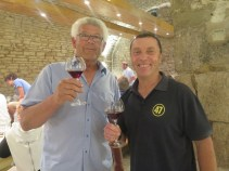 Arlaud Paulee gathering 20 - Herve with top man Laurent come to collect son Ugo