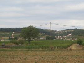 Morey from way into flatlands east of village near railway