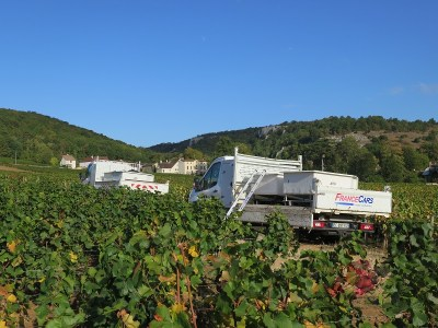 Noellat Camions with Chambolle Combe behind