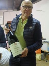 Noellat Vendange end Paulee vin3 held by supa generous top man Alain Noellat