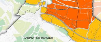 Maranges map