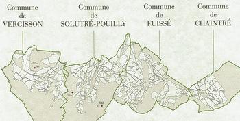 Pouilly-Fuissé map
