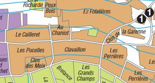 Puligny map