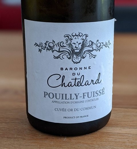Pouilly Fuissé Baronne Chatelard