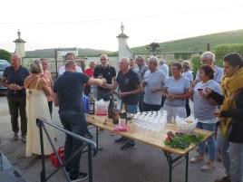 Noellat Vendange Paulee Champagne Reception