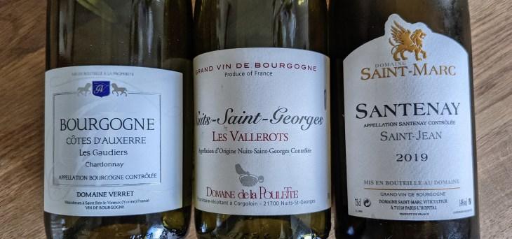 Burgundy - Verret, Poulette, Saint Marc