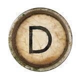 Type Writer Keys_D