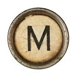 Type Writer Keys_M