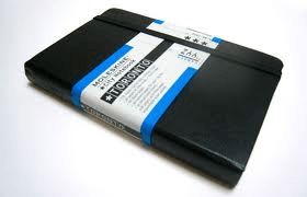When I first heard of Moleskin notebooks, I actually thought they were bound with the skins of moles. Now I just wish they sourced their paper sustainably (but I'm still relieved they don't slaughter moles).