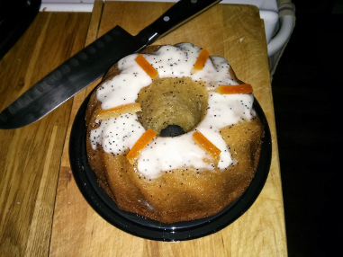 Orange Bundt Cake RAT snack