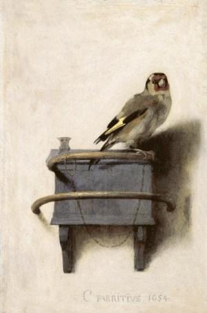 Carel Fabritius Goldfinch