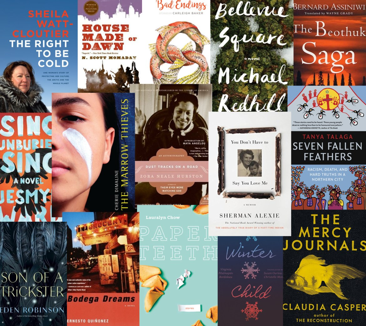 Book covers from stand-out reads of 2017