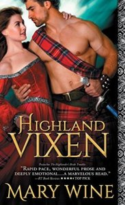 Blog Tour: Highland Vixen by Mary Wine