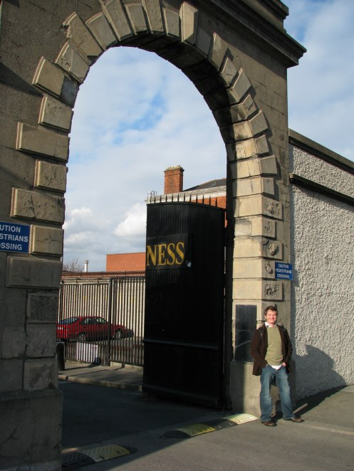 St. James Gate & Daniel Burke