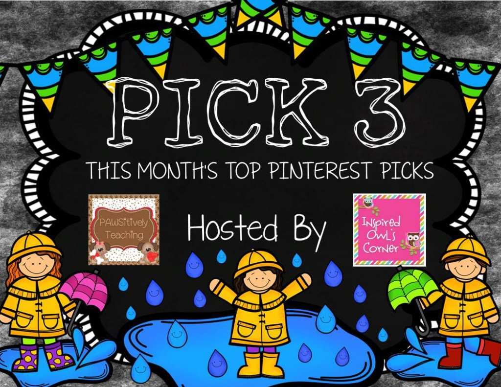 Pick 3 Header Graphic April