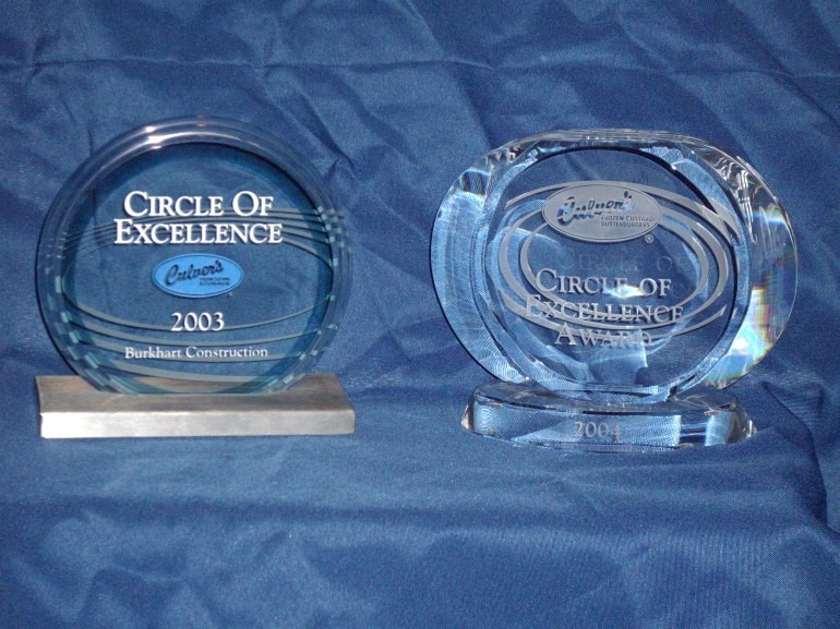 Culvers Restaurant Circle of Excellence Awards Construction