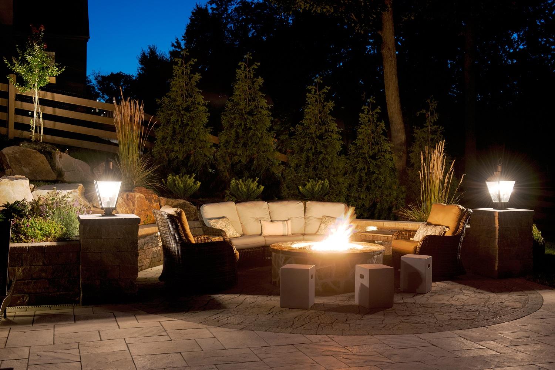 outdoor lighting portfolio burkholder