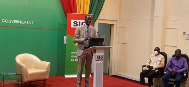 Le Pr Martial Ouédraogo, coordinateur national de la réponse à l'épidémie deCOVID19
