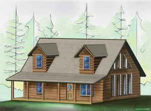 Burks Fork Log Homes