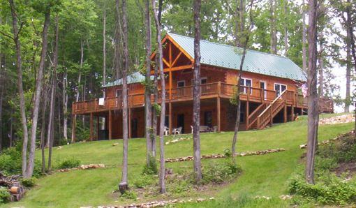 Burks Fork Log Homes