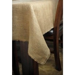 Fabric Chair Covers To Buy Aeron Adjust Lumbar Support Browse And Shop For Burlap Tablecloth 72 X 120   Online