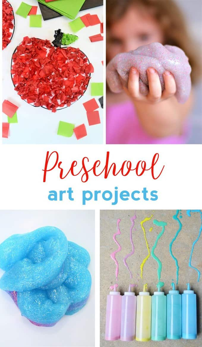 Preschool Art Projects Easy Craft Ideas For Kids