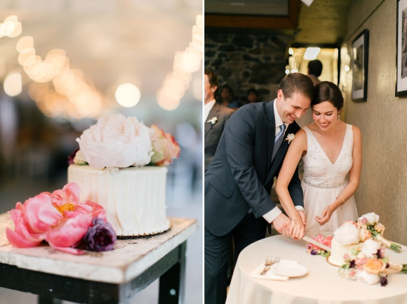 Tess and Billy's Wedding at Tyler Arboretum | Navy Blue and Blush Weddings
