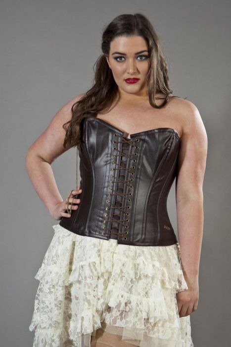 steampunk overbust plus size